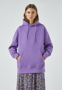 PULL&BEAR - Mikina skapucí - purple - 5