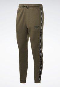 Reebok - TAPE JOGGER - Teplákové kalhoty - armygr - 7