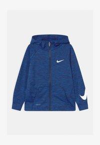 Nike Sportswear - COMFORT HOODIE - Sportovní bunda - midnight navy heather - 0