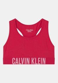 Calvin Klein Underwear - 2 PACK - Bustier - romanticpink/flushedred - 2