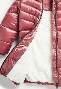 Next - Winter coat - pink - 6