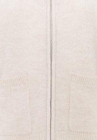 Selected Femme - SLFSIA ZIPPER CARDIGAN - Cardigan - sandshell - 2