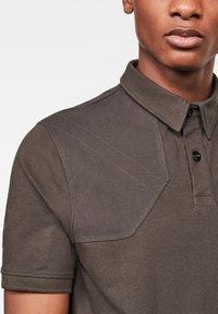G-Star - HUNTING PATCH - Polo shirt - asfalt - 2