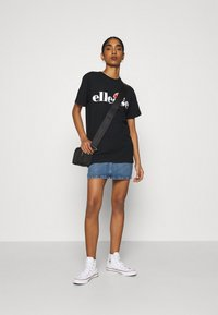 Ellesse - ALBANY - T-shirts print - black - 1