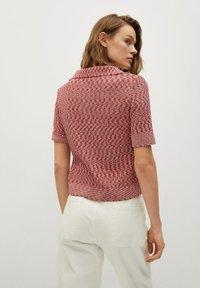 Mango - Print T-shirt - rosa - 2