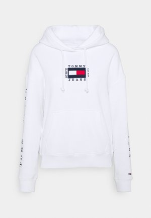 BOX FLAG HOODIE - Sweat à capuche - white