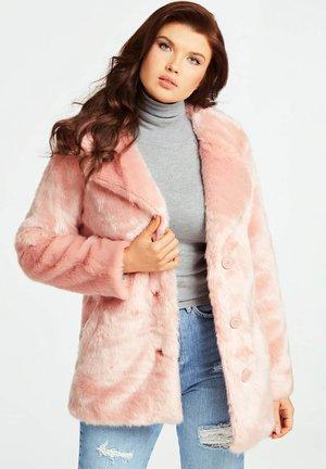 Winter coat - mehrfarbe rose