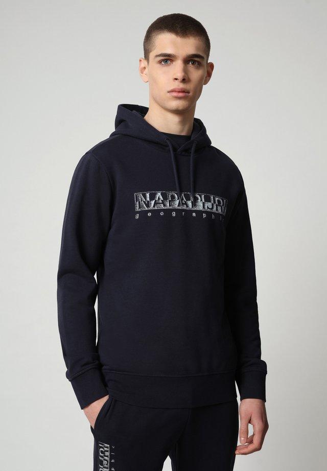 BALLAR  - Hoodie - blu marine