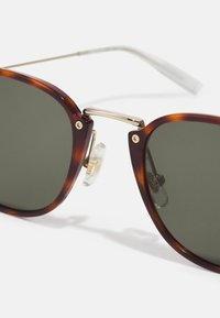 Mont Blanc - UNISEX - Sunglasses - havana/gold-coloured/green - 2
