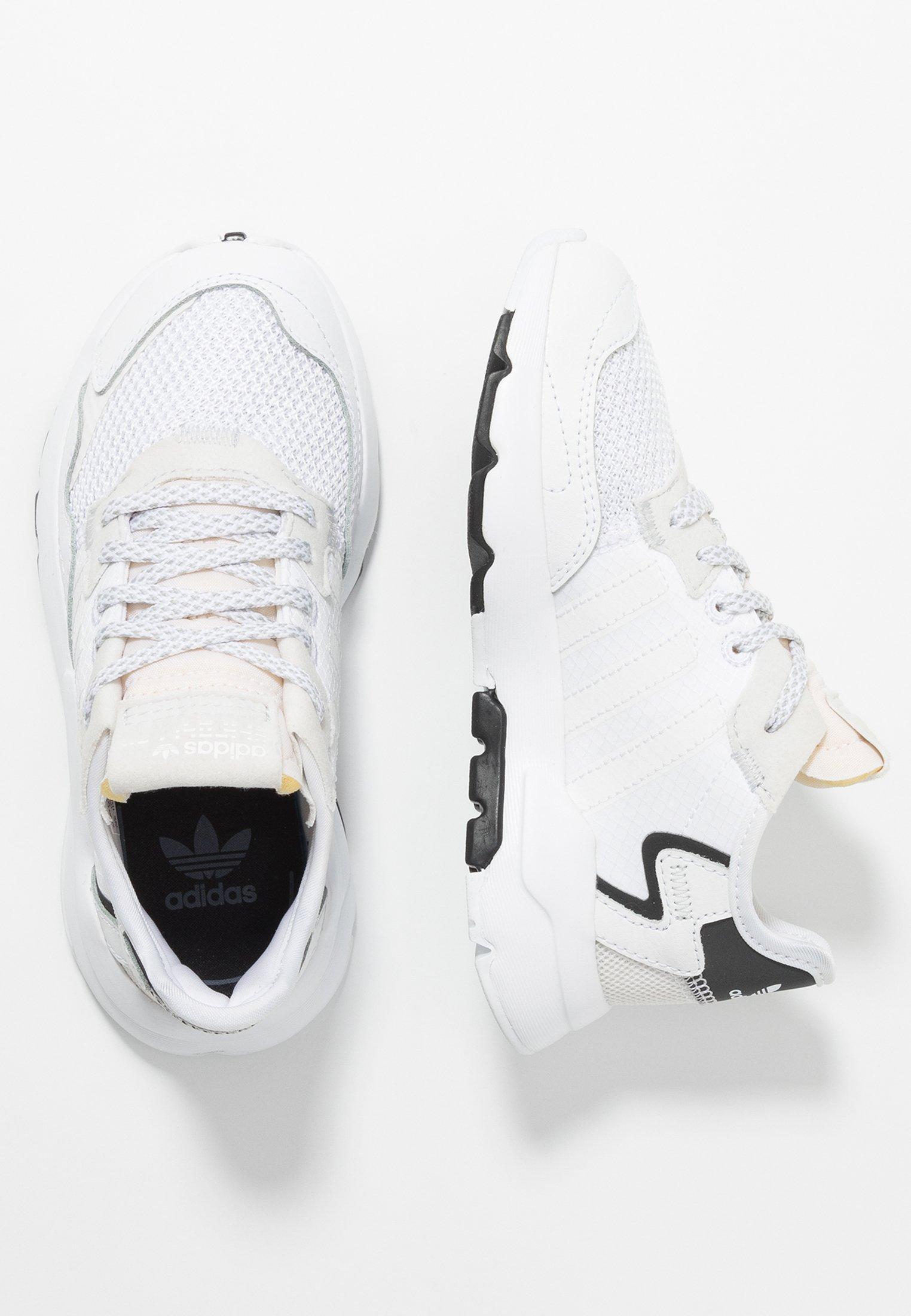 regalo Gran Barrera de Coral Parte  adidas Originals NITE JOGGER - Trainers - footwear white/crystal  white/white - Zalando.ie