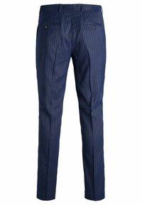 Jack & Jones PREMIUM - SUPER SLIM FIT - Suit trousers - dark navy - 7