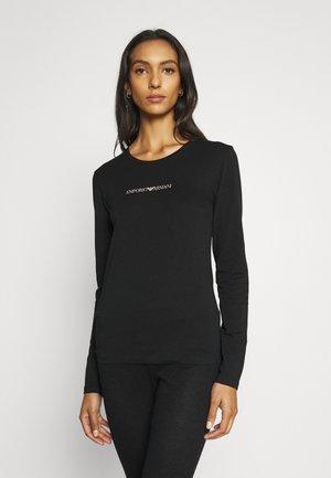 ICONIC LOGOBAND - Pyjamashirt - black
