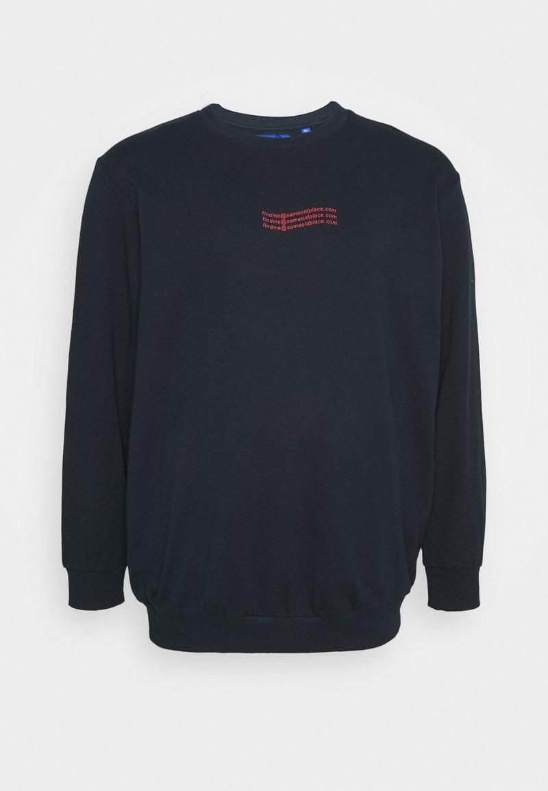 Jack & Jones - JORTOMORROW  - Sweatshirt - navy blazer