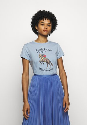 WSTRNWR SHORT SLEEVE - Print T-shirt - estate blue