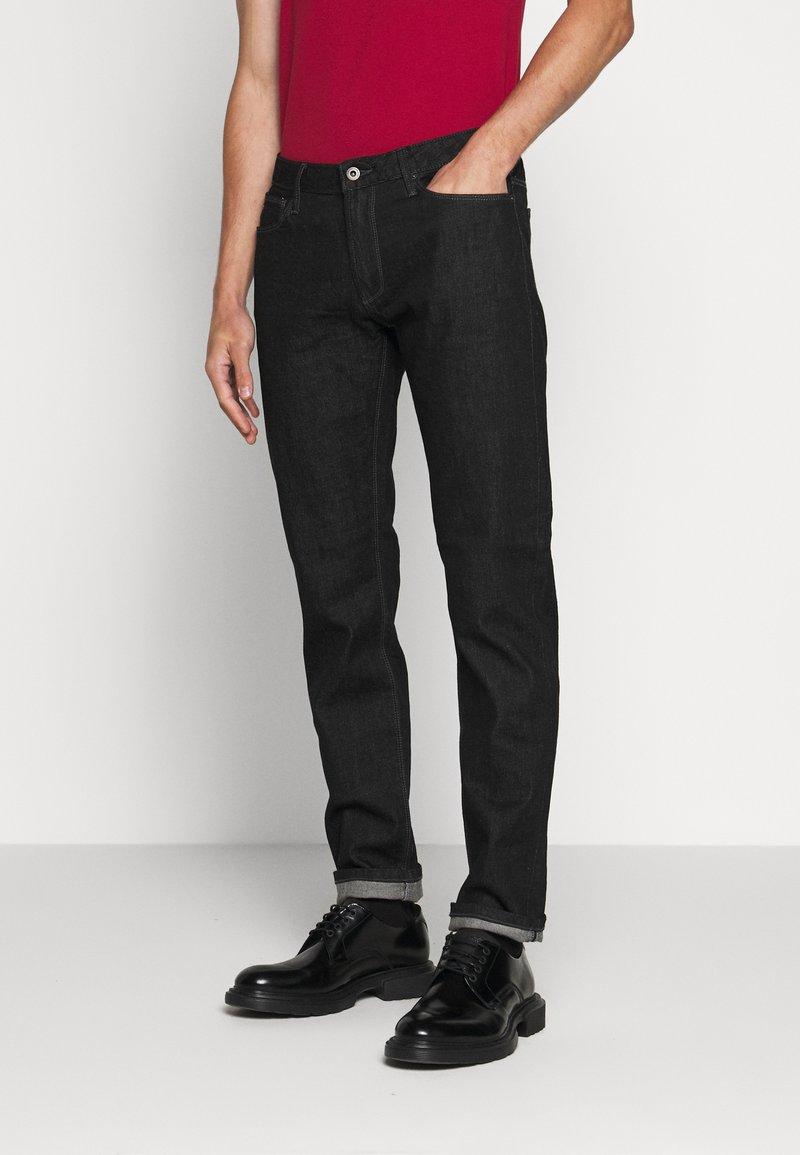 Emporio Armani - Jeans a sigaretta - black