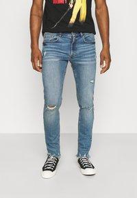 Redefined Rebel - STOCKHOLM DESTROY - Jeans Skinny Fit - speed blue - 2