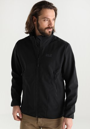 NORTHERN PASS JACKET MEN - Soft shell jacket - black