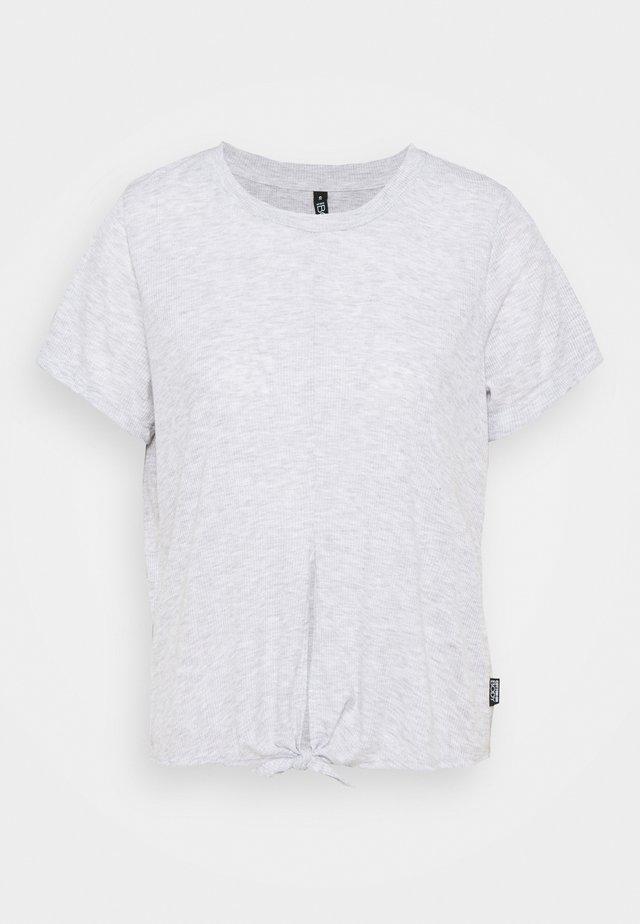 TIE UP  - T-Shirt basic - grey marle