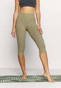 Cotton On Body - SO PEACHY CAPRI - Leggings - oregano marle - 0