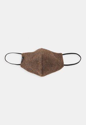 COMMUNITY MASK UNISEX - Munnbind i tøy - mottled brown