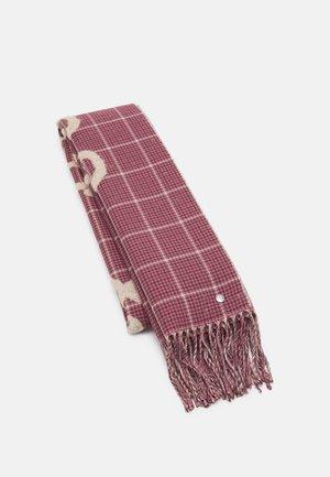 WILSHIRE LOGO SCARF - Scarf - mottled pink