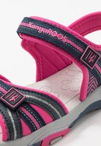 KangaROOS - K-LANE - Walking sandals - dark navy/daisy pink - 2