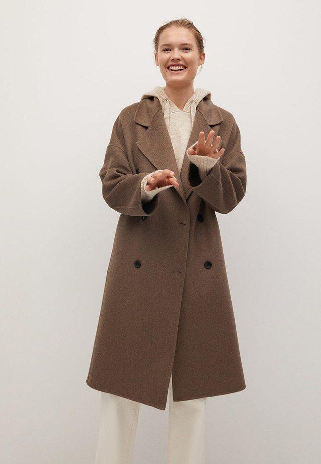 PICAROL - Classic coat - medium brown