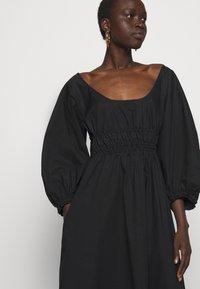 Proenza Schouler White Label - FULL SLEEVE DRESS - Vestido informal - black - 4