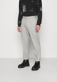Topman - GRY PRONOUNCED RELAXED - Bukser - grey - 0