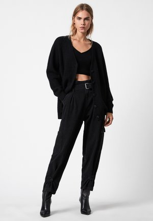 LEANNE CARDIGAN - Cardigan - black