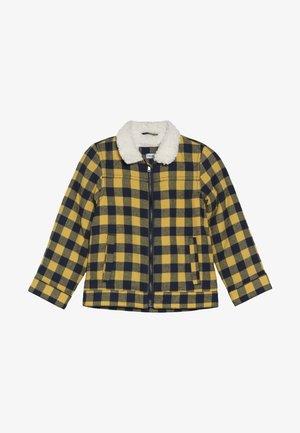 Winter jacket - mineral yellow/black iris