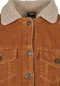 Urban Classics Curvy - Light jacket - toffee/beige - 3