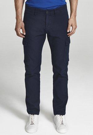 Pantaloni cargo - navy blue
