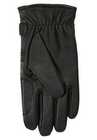 Barbour - NEWBROUGH TARTAN GLOVE - Gloves - black - 2