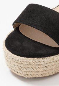Koi Footwear - VEGAN  - Espadrilky - black - 6