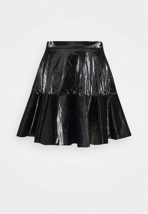 Plisovaná sukně - nero