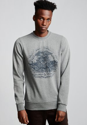 TOO LATE STUMP  - Sweatshirt - grey heather