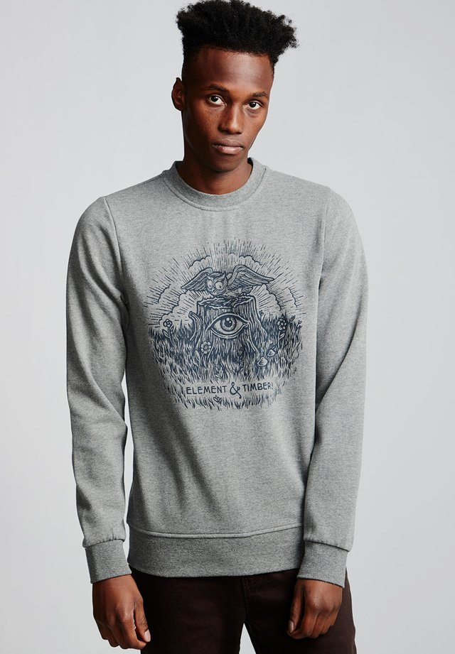 TOO LATE STUMP  - Sweatshirt - grey heather