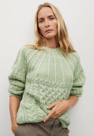 HANDIA - Pullover - pastellgrün
