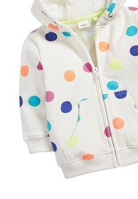 Next - LILAC UNICORN ZIP THROUGH HOODY (3MTHS-7YRS) - Zip-up hoodie - white - 2