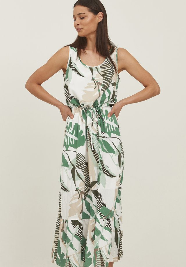 MIT ALLOVER PRINT - Vestito estivo - green graphic mix