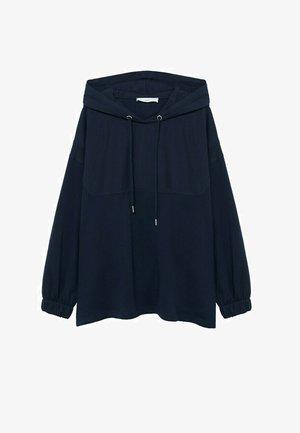 SPORTY-A - Hoodie - dunkles marineblau