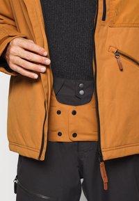 O'Neill - UTLTY JACKET - Snowboard jacket - glazed ginger - 3