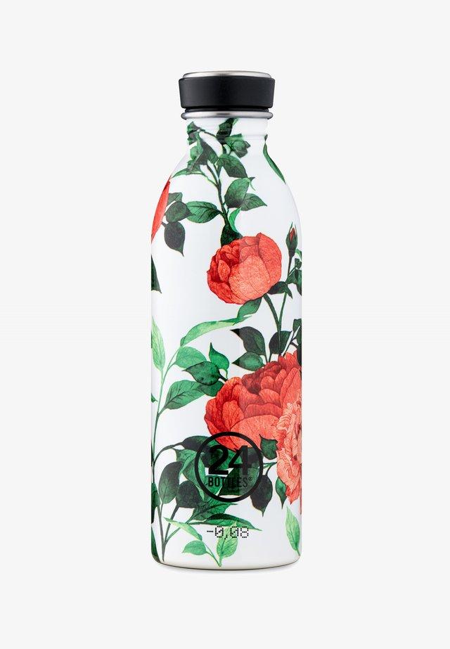 TRINKFLASCHE URBAN BOTTLE FLORAL - Drink bottle - light red, light green