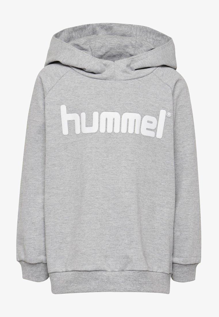 Hummel - LOGO HOODIE UNISEX - Hoodie - grey melange