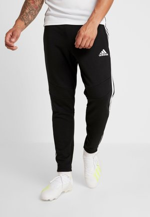 TIRO 19 PANTS - Tracksuit bottoms - black/white