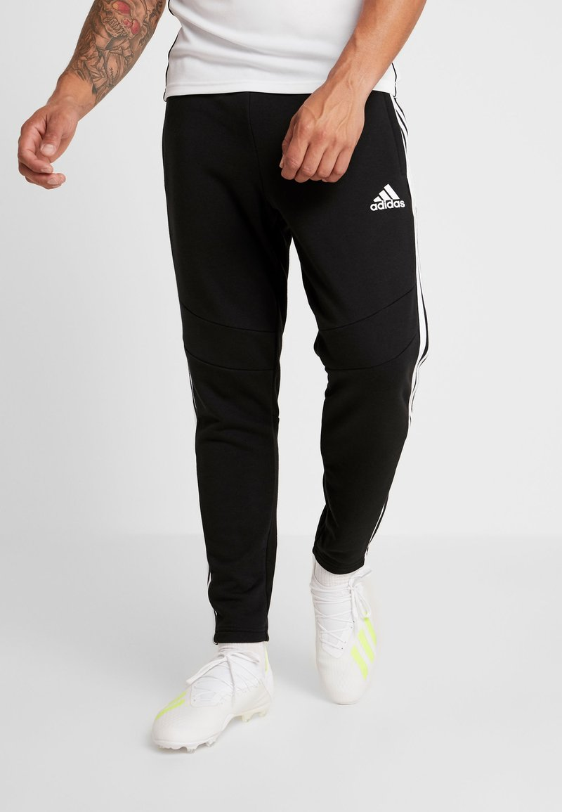 adidas Performance - TIRO 19 PANTS - Spodnie treningowe - black/white