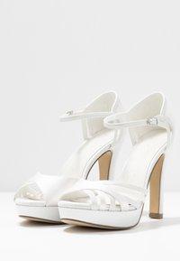 Menbur - Sandály na vysokém podpatku - ivory - 4