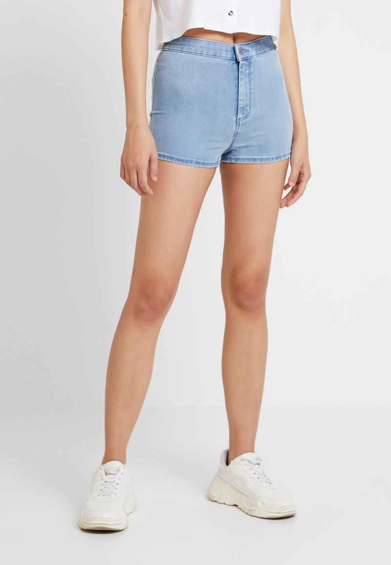 Topshop - JONI - Jeansshorts - bleached denim