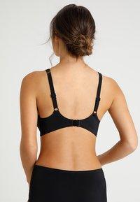 DORINA CURVES - FIJI PADDED - Bikini top - black - 2